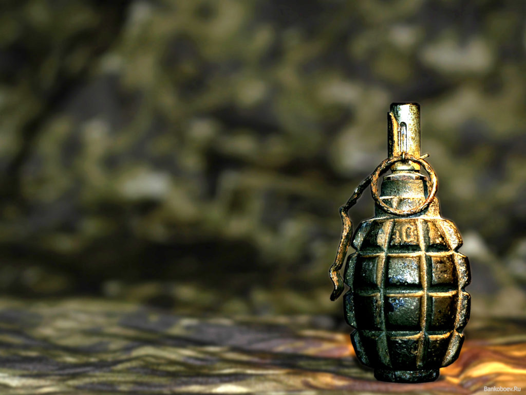 На прикарпатському сміттєзвалищі виявили гранату